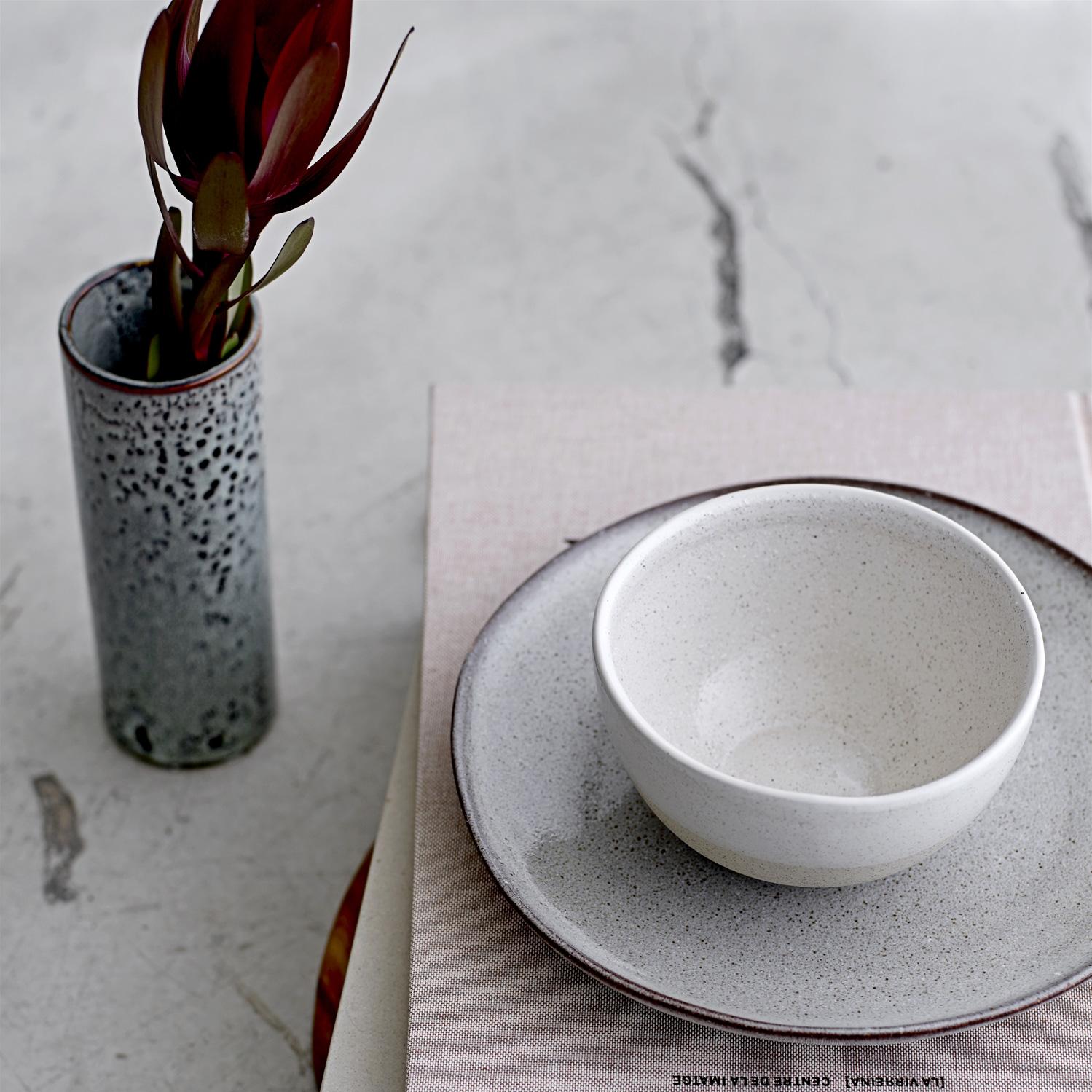 Enorm Sandrine tallerken L, lysegrå – Bloomingville – Køb møbler online PK-36