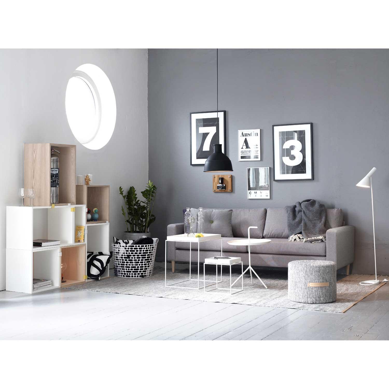 Tray table side 54 cm white från Hay - Køb møbler online på ROOM21.dk