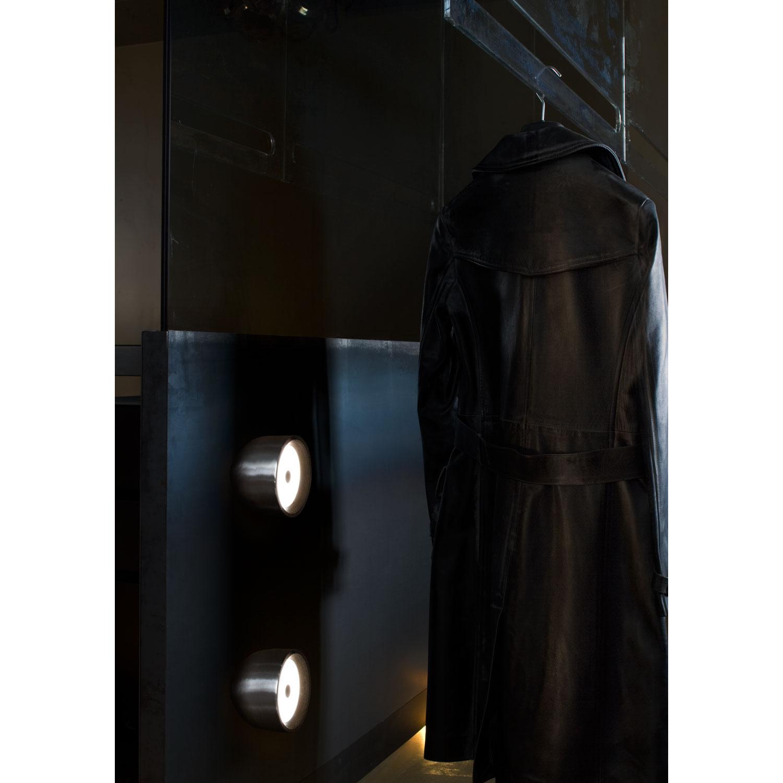 Wan c/w loft/væglampe, aluminium från flos   køb møbler online på ...
