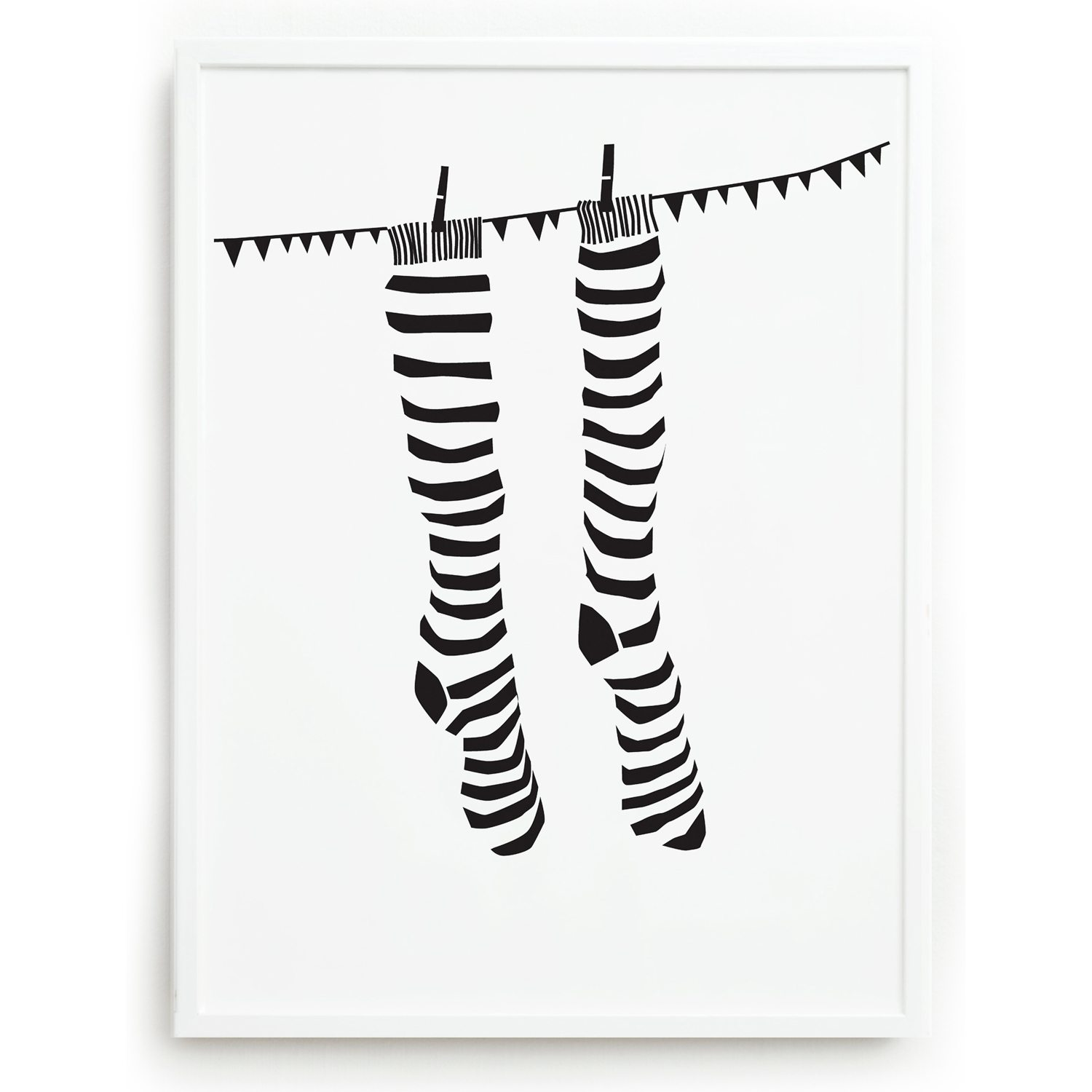 Knock Your Socks Off plakat – One Must Dash – Køb møbler online pÃ¥ ...