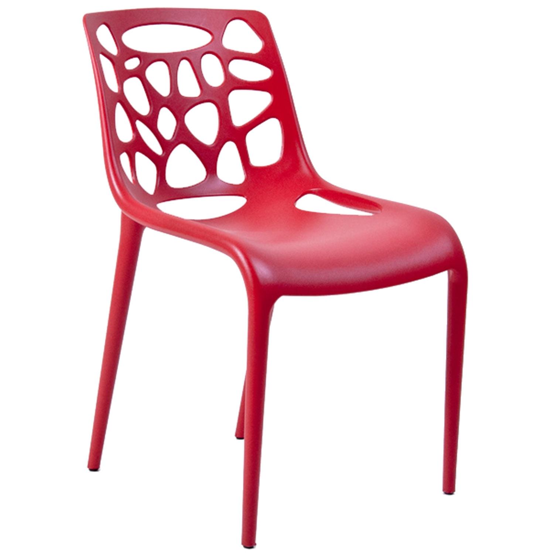 stol rød Garden stol, rød Select21   Køb møbler online på ROOM21.dk stol rød