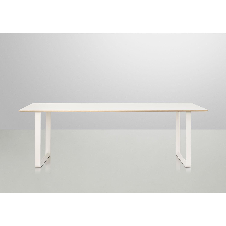 70/70 bord 225 cm, hvid – Muuto – Køb møbler online pÃ¥ ROOM21.dk