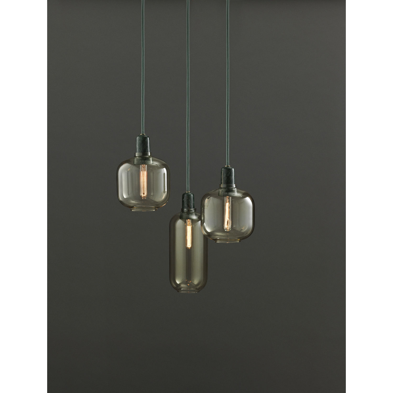 Amp pendel s, guld/grøn – normann copenhagen – køb møbler online ...
