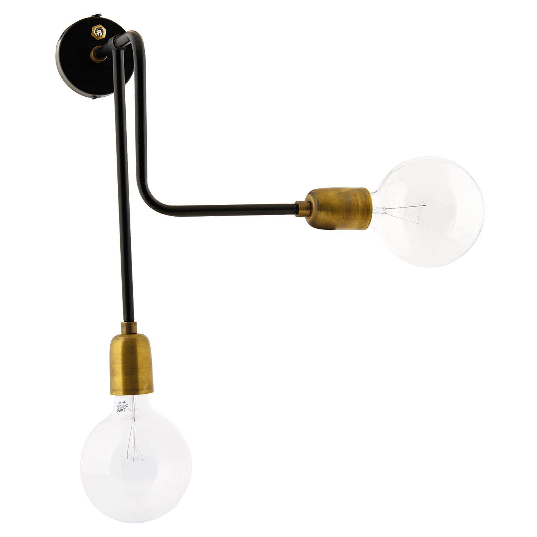 Swing væglampe 70cm, sort – house doctor – køb møbler online pÃ¥ ...