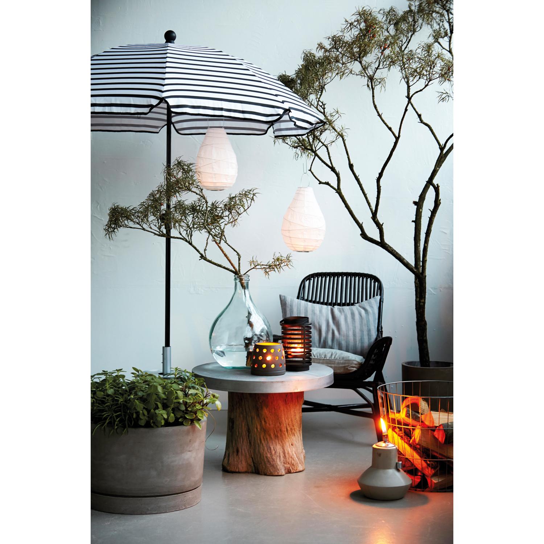 Oktogon parasol, sort/hvid – House Doctor – Køb møbler online pÃ¥ ...