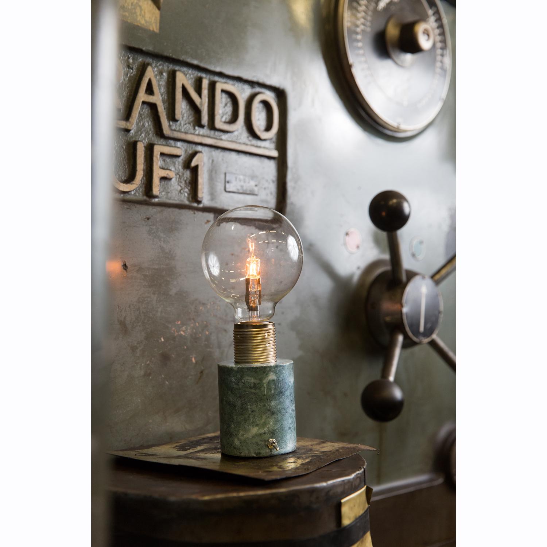 Sten bordlampe, grøn marmor – watt & veke – køb møbler online pÃ¥ ...