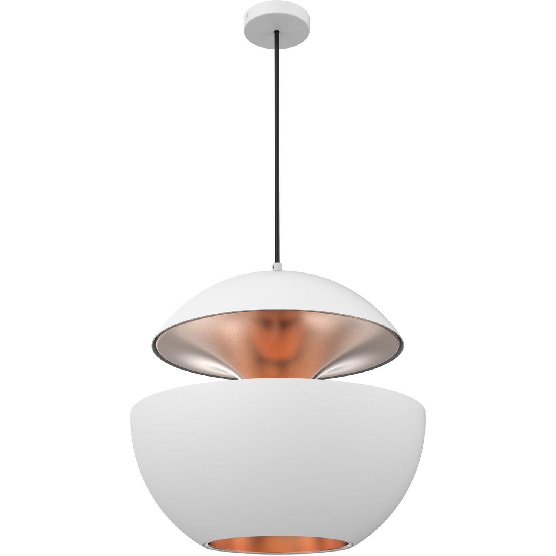 HCS pendel, hvid/kobber – La Lampe Gras – Køb møbler online pÃ¥ ...