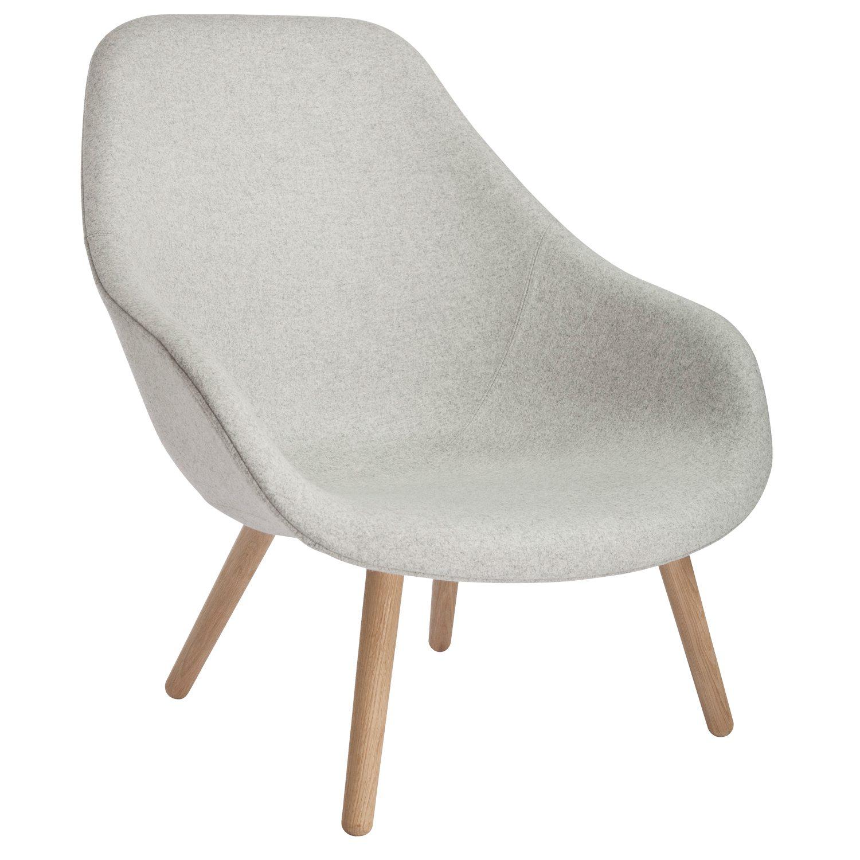 About a Lounge 92 lænestol, lysegrÃ¥/egetræ – Hay – Køb møbler ...