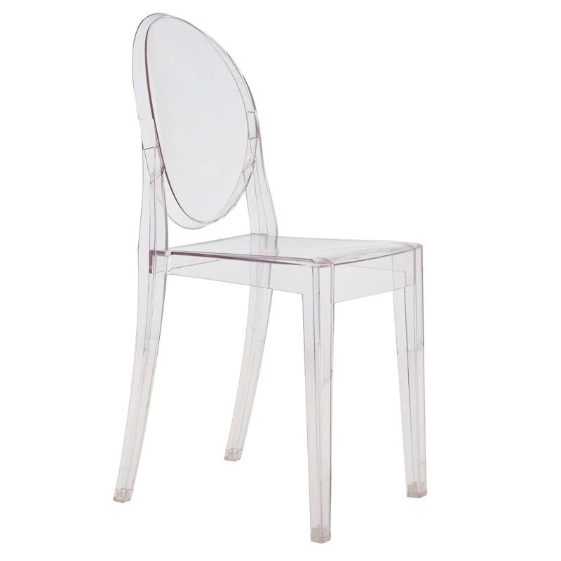 gennemsigtig stol